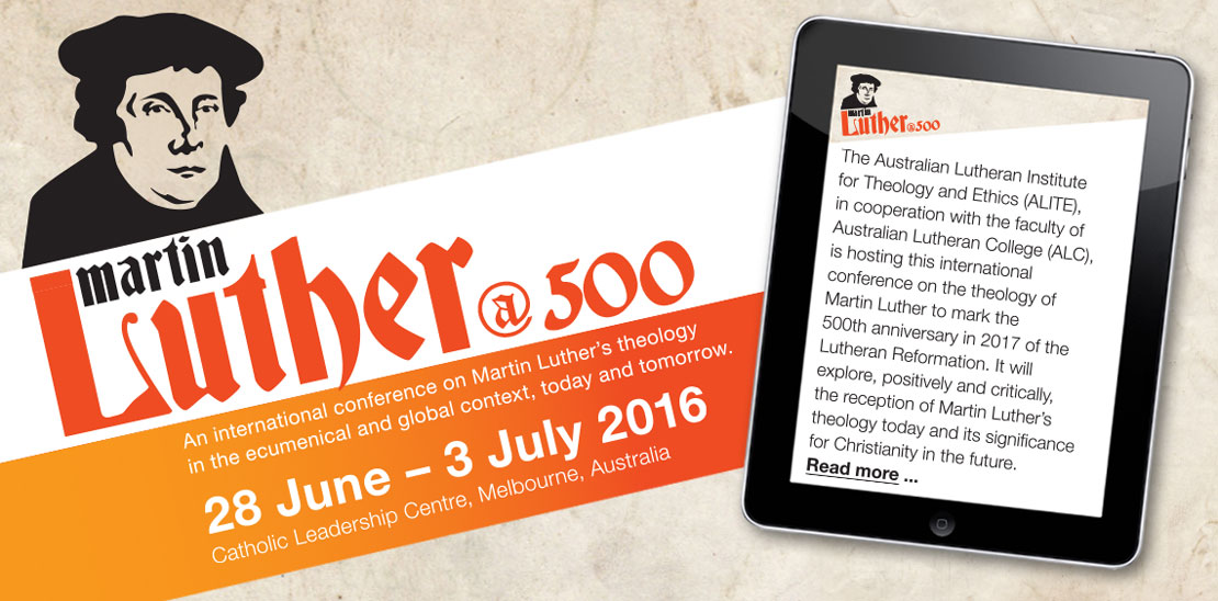 2016 Luther500 conference